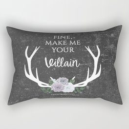 Make me your villain - The Darkling - Bardugo - Grey Rectangular Pillow