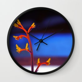 The magic plant Wall Clock