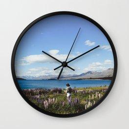 Tekapo Wall Clock