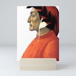 "Sandro Botticelli ""Dante Alighieri"" Mini Art Print"