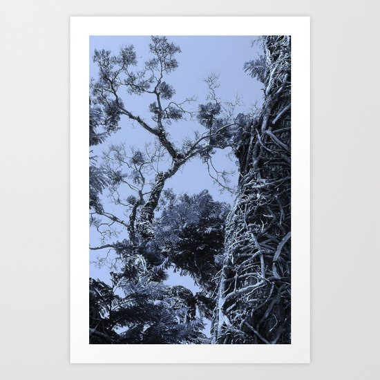 Gnarly. Art Print