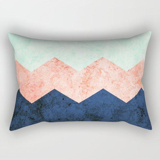 triple chevron (2) Rectangular Pillow