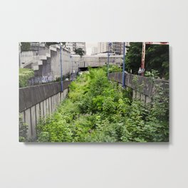 Envahi par la Végétation // Invaded by Vegetation Metal Print