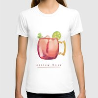 moscow T-shirts featuring Moscow Mule by Nan Lawson