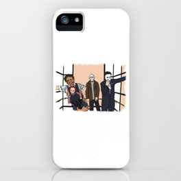 THE HORROR PACK iPhone Case