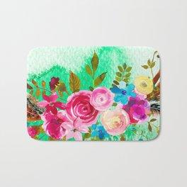Flowers bouquet #41 Bath Mat