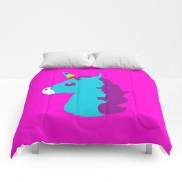 Portrait  of a Unicorn Comforters