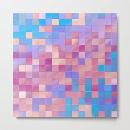 many little squares -a- Metal Print