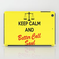 better call saul iPad Cases featuring Better Call Saul by DeBUM