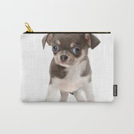 Chihuahua puppy standing Carry-All Pouch
