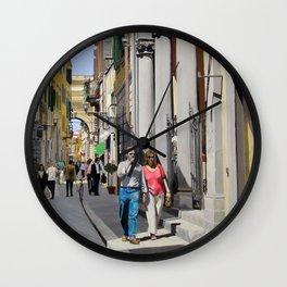 Via del Corso Wall Clock