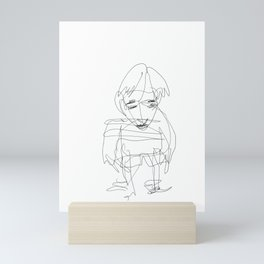 Little Boy Mini Art Print