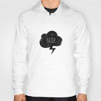 noir Hoodies featuring Noir by Spades