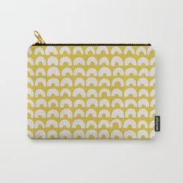 Ceylon Yellow & Half Circles Carry-All Pouch