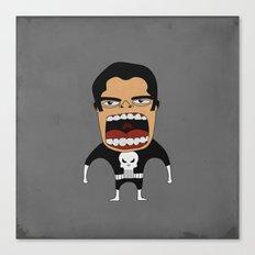 Screaming Punisher Canvas Print