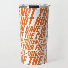 You're not your job Travel Mug