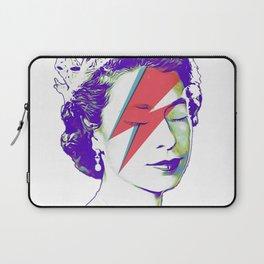 Queen Elizabeth / Aladdin Sane Laptop Sleeve