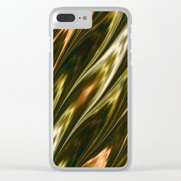 Tiger Eye Clear iPhone Case