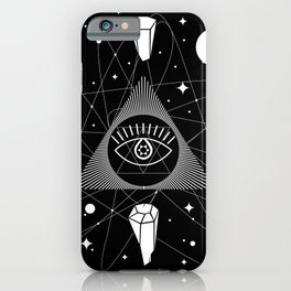 Space Crystals & Secrets of the Universe iPhone Case