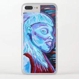 Yolandi Visser Portrait Fan Art Clear iPhone Case