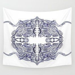 Alien Abstract Wall Tapestry