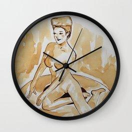 Coffee Pin Up Wall Clock