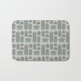 Birdcages (Gray) Bath Mat