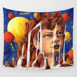 Water flow Wall Tapestry