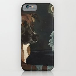 Jango and the Dreamcatcher iPhone Case