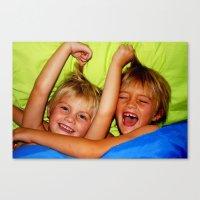 boys Canvas Prints featuring Boys by LanaBunny