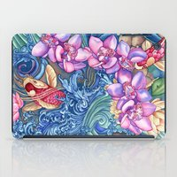 orchid iPad Cases featuring Orchid Splash by Vikki Salmela