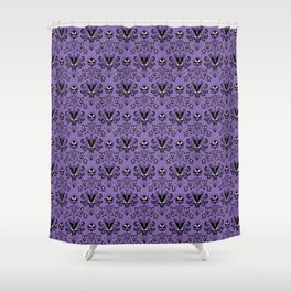 999 Happy Haunts Shower Curtain