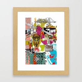 Must Work Framed Art Print