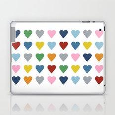 64 Hearts Laptop & iPad Skin