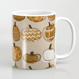 Pumpkin Party in Almond Coffee Mug