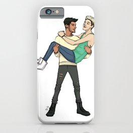 Zayn and Niall iPhone Case