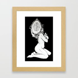 Mental Weight  Framed Art Print