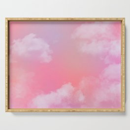 Pastel Sky Serving Tray