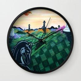 World Of Chess Wall Clock