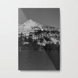 Tenaya Lake, Yosemite National Park Metal Print
