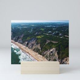 Hidden Beaches of Block Island, Rhode Island - New England's Hidden Gem Mini Art Print