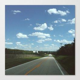 Back Roads Canvas Print