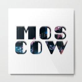Mos cow Metal Print