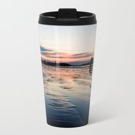 Saint Malo au coucher du soleil / Sunset in Saint Malo Travel Mug