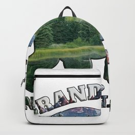 Grand Teton National Park Grizzly Bear Landscape Mountains Wyoming Backpack