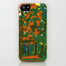 Bournemouth Gardens iPhone Case