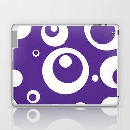Circles Dots Bubbles :: Grape Juice Laptop & iPad Skin