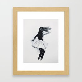 No One Has To Know Framed Art Print