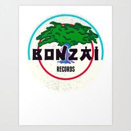 Bonzai Records - Hardcore Art Print