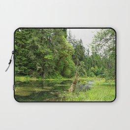 Hoh Rainforest Scene Laptop Sleeve